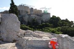 Athens 07 Naar Agora 021(Areopagus - Mars Hill)