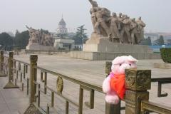 Forbidden City 2007 China 10 Op de uitkijk voor de revolutionairen