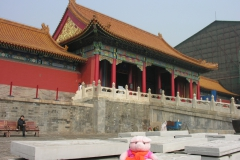 Forbidden City 2007 China 12 Dat schilder je niet met een rollertje