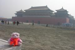 Forbidden city 2007 China 14 Verboden stad, ik kijk niet