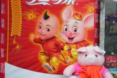 nanjing 2007 China 19 Jaar van het varken in  Nanjing