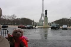 Parijs 2007 04 Zo ik met me kresant voor dijfel toren