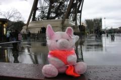 Parijs 2007 15 Regenjas, eindelijk